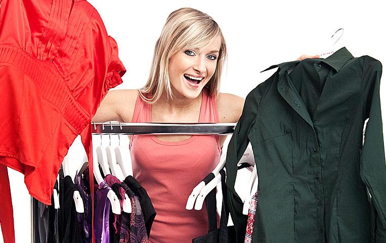Samantha and her beautiful wardrobe