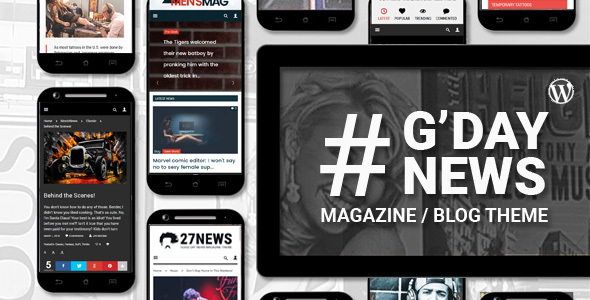 GDN - Magazine Blog WordPress Theme